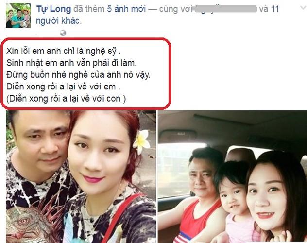 "Kho ngo nghe si Tu Long ""ninh"" vo xinh dep kheo co nay-Hinh-2"