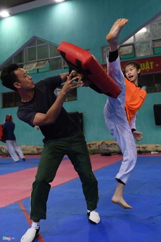 Tuyen taekwondo kho luyen bang dung cu dac biet truoc SEA Games-Hinh-12