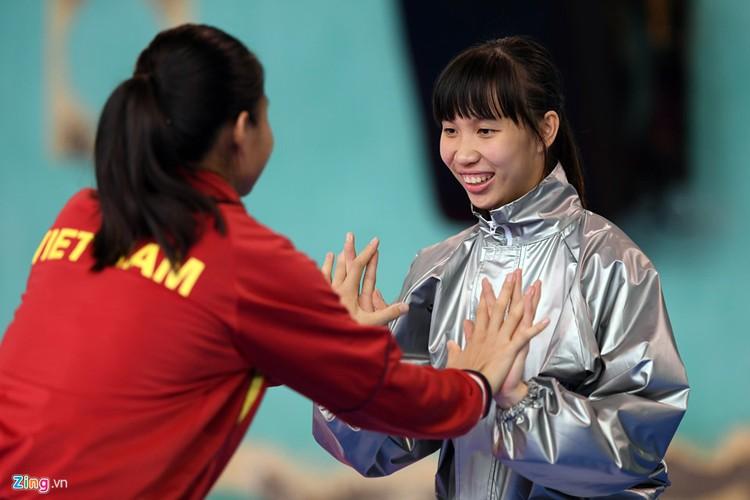 Tuyen taekwondo kho luyen bang dung cu dac biet truoc SEA Games-Hinh-2