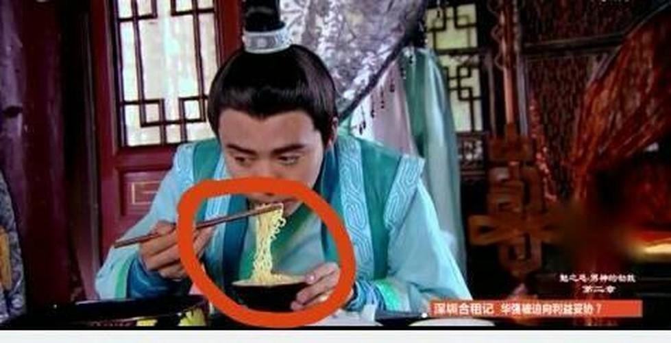 Soi nhung loi ngo ngan trong phim co trang Trung Quoc