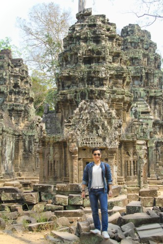MC noi tieng chia se kinh nghiem phuot Campuchia chi voi 250 USD