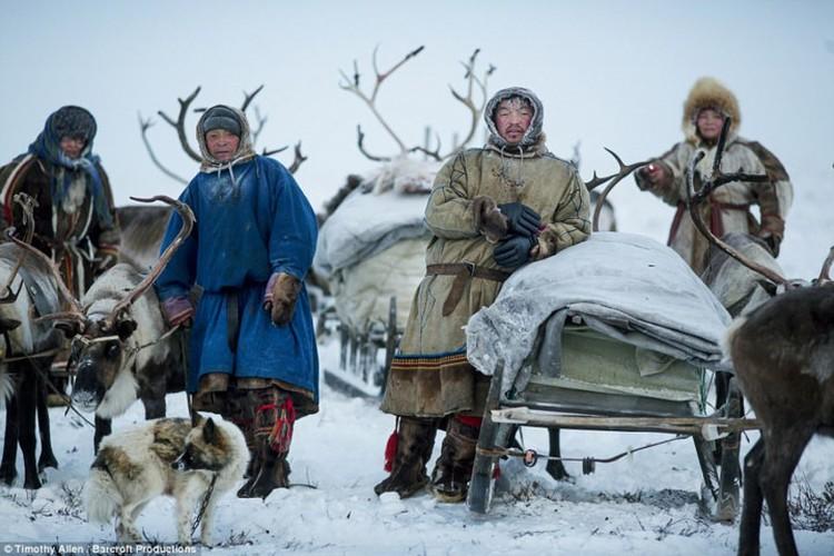 Cuoc song trong cai lanh thau xuong cua nguoi Nenets o Siberia