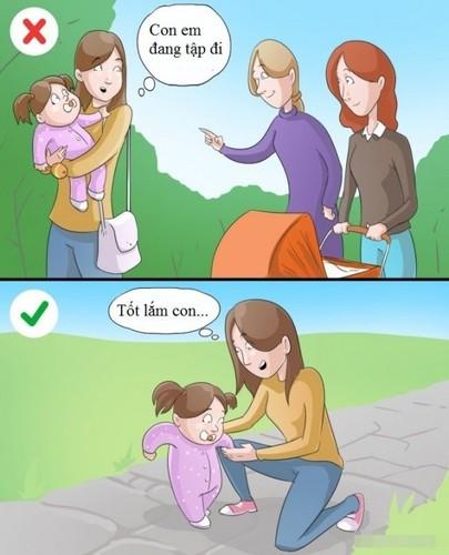 Dù yêu con đến mấy, đây là những điều cha mẹ không nên làm giúp bé