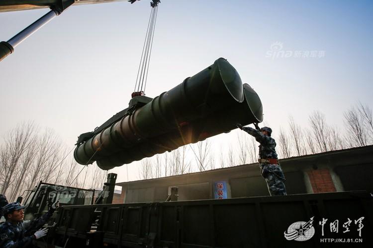 Mo kho ten lua phong khong S-300 khong lo cua Trung Quoc-Hinh-6