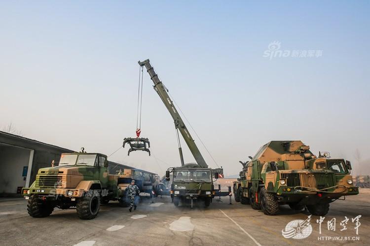 Mo kho ten lua phong khong S-300 khong lo cua Trung Quoc-Hinh-7