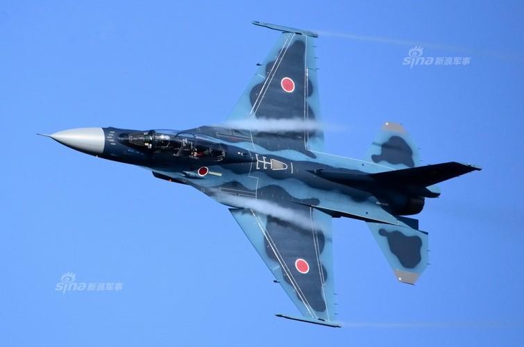 Dat khung khiep may bay chien dau F-2 cua Nhat Ban-Hinh-3