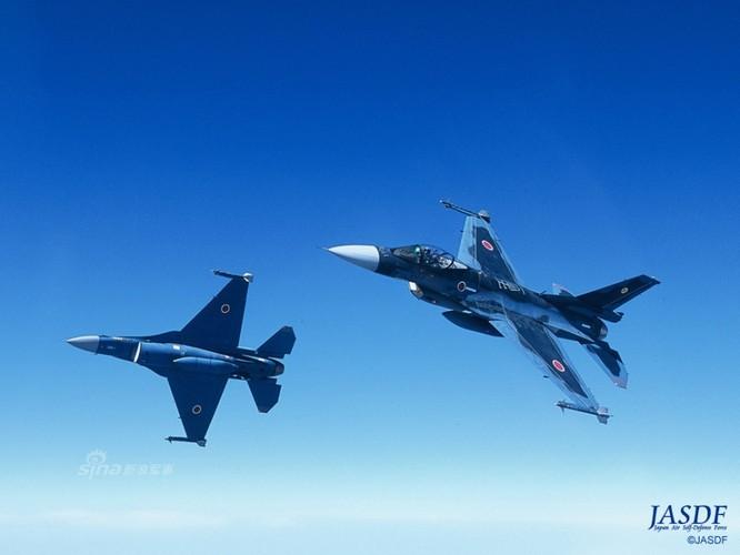 Dat khung khiep may bay chien dau F-2 cua Nhat Ban-Hinh-7