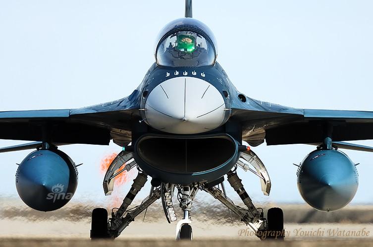 Dat khung khiep may bay chien dau F-2 cua Nhat Ban-Hinh-8