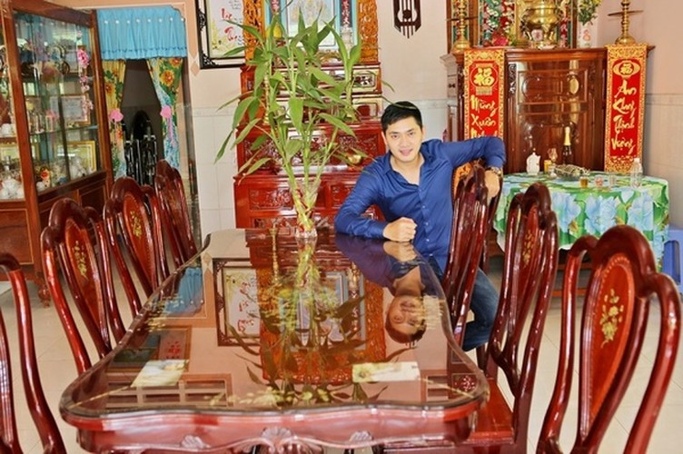 Cuoc song trong nha vuon 3.000 met vuong cua Minh Luan-Hinh-2