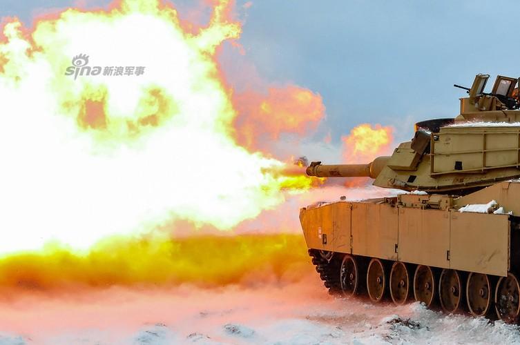 Muc kich xe tang Abrams na phao du doi sat nach Nga-Hinh-12