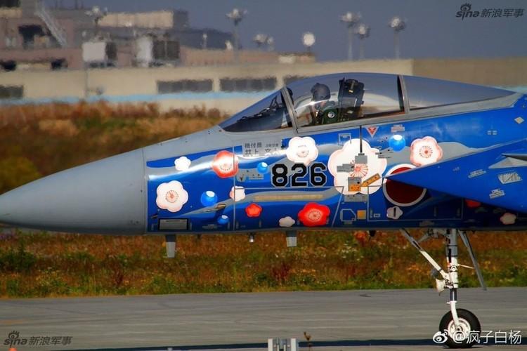 Loe loet dan tiem kich F-15 cua Nhat Ban