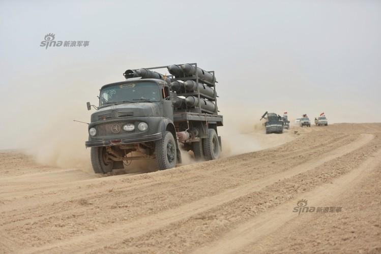 Loat dai lien va phao tren xe ban tai cua Quan chinh phu Syria-Hinh-5