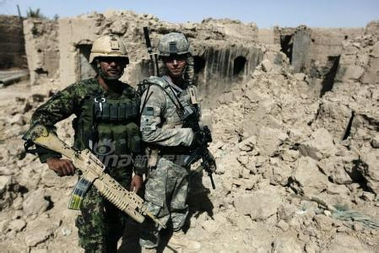 Anh ky cuc linh My huan luyen Quan doi Afghanistan-Hinh-4