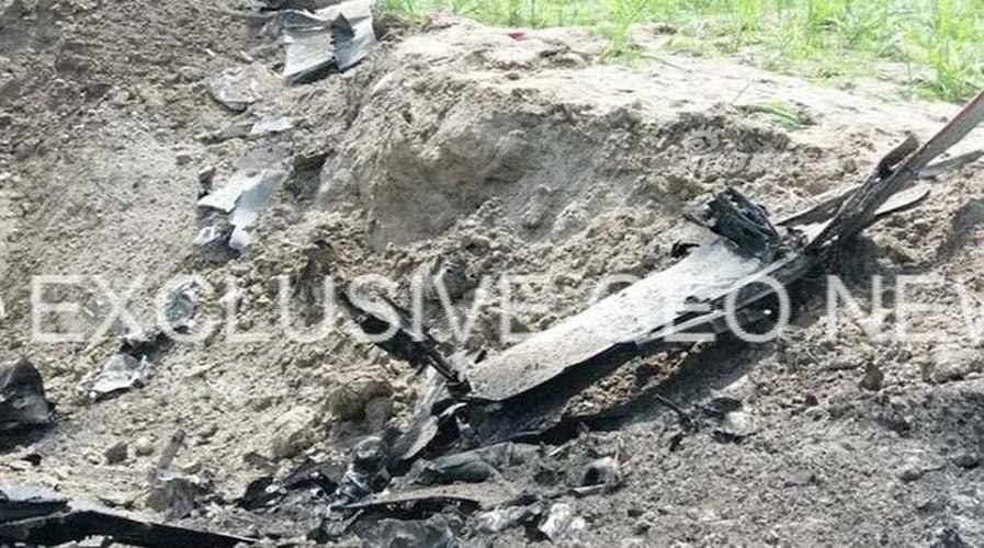 Hien truong may bay chien dau Mirage Pakistan roi tan nat-Hinh-2