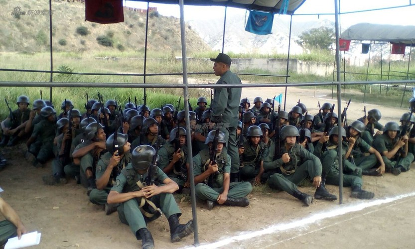 Diem dac biet trong Lu doan 31 Quan doi Venezuela-Hinh-9