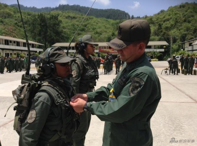 Diem dac biet trong Lu doan 31 Quan doi Venezuela