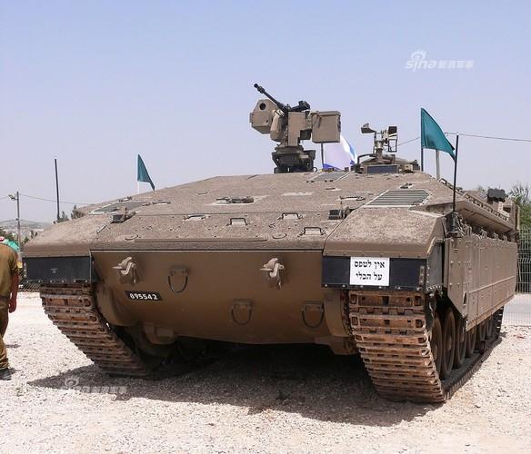 Giat minh hinh anh xe tang tuong lai cua Quan doi Israel-Hinh-7