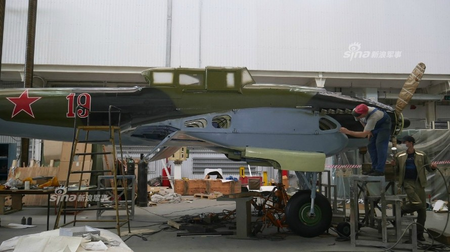 """Xem """"Thien than bau troi"""" Il-2 Lien Xo duoc phuc dung lai-Hinh-2"""
