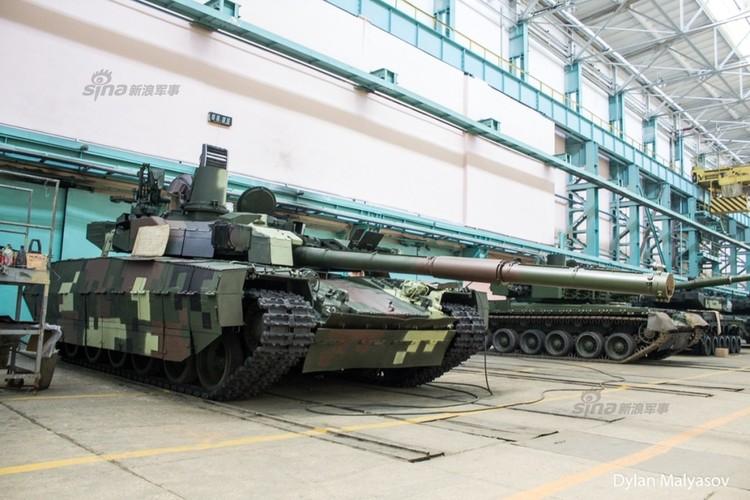 Tham day chuyen san xuat xe tang T-84 Ukraine-Hinh-7