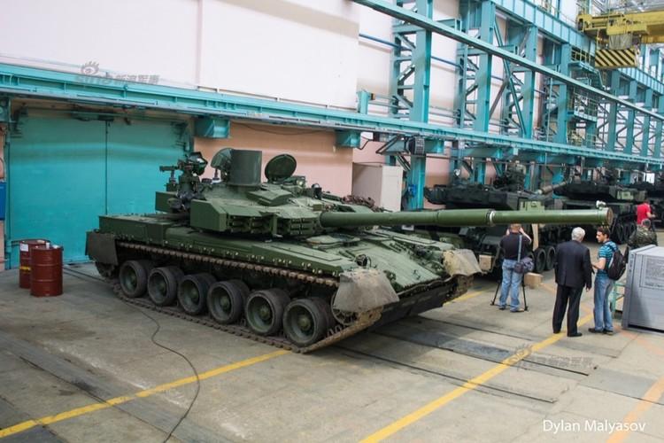 Tham day chuyen san xuat xe tang T-84 Ukraine-Hinh-8