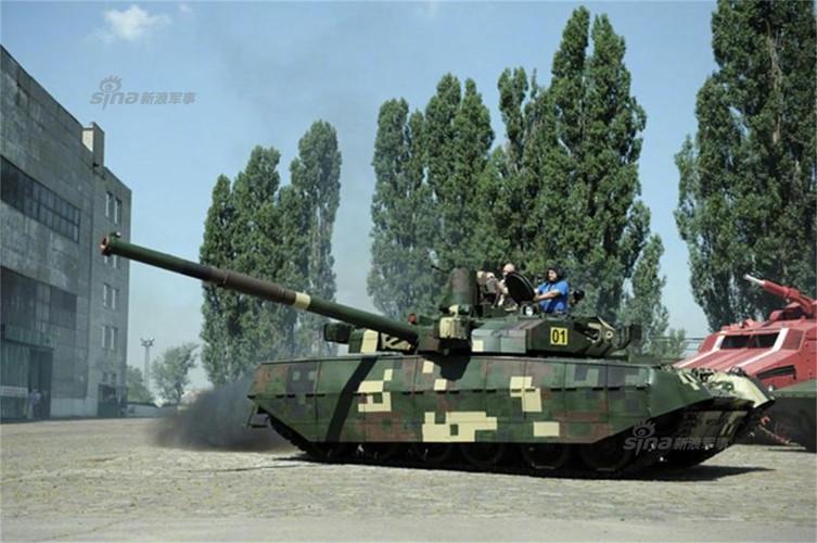 Tham day chuyen san xuat xe tang T-84 Ukraine-Hinh-9