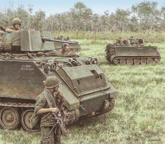 Nhuoc diem chet nguoi cua thiet giap M113 trong CT Viet Nam-Hinh-2