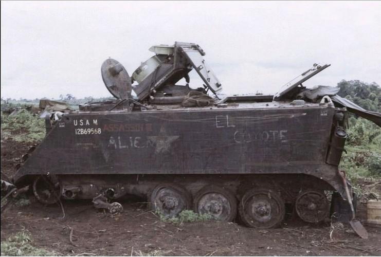 Nhuoc diem chet nguoi cua thiet giap M113 trong CT Viet Nam-Hinh-9