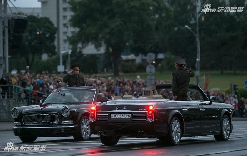 Hoanh trang khong kem Nga duyet binh cua Belarus