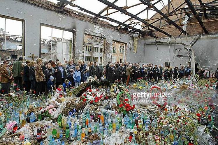 Tham kich vu khung bo Beslan sau 13 nam nhin lai