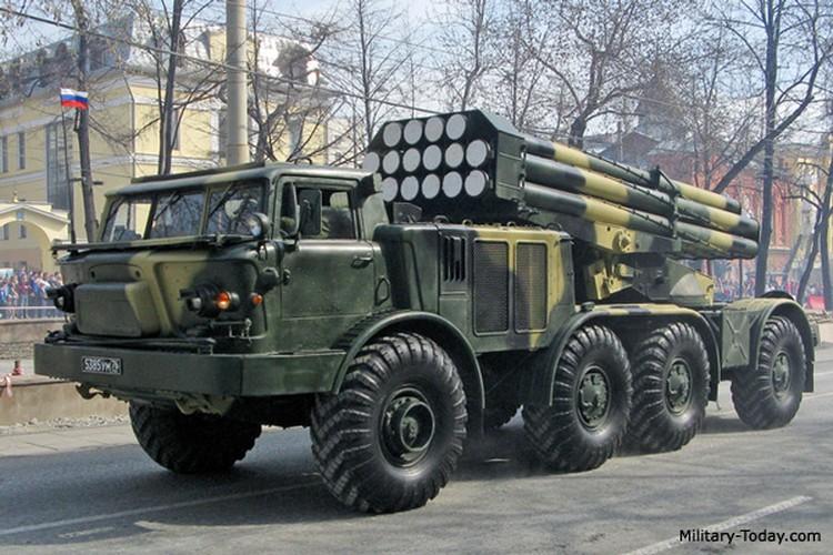 Quan doi Syria mang BM-27 Uranga ra ban IS o Deir Ezzor-Hinh-7