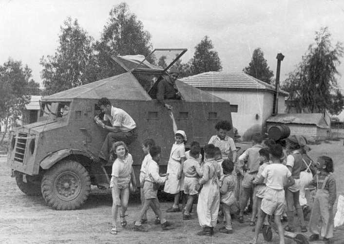 "Nam 1948: Lan dau tien Israel ""so gang"" voi lien minh A Rap-Hinh-4"