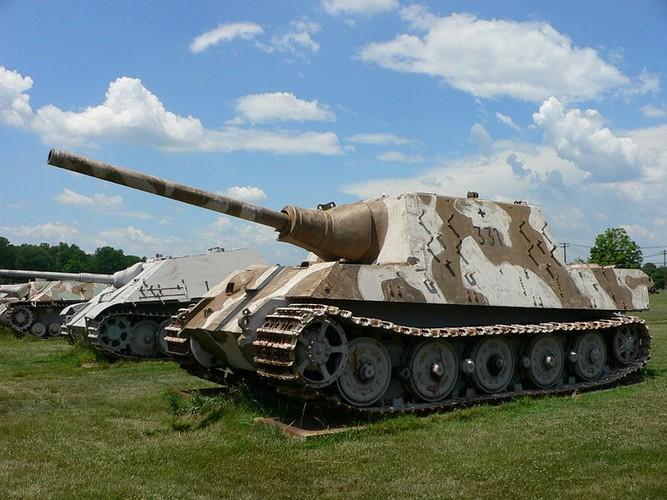 Vi sao sieu phao diet tang Jagdtiger cua Duc tham bai trong CTTG 2?-Hinh-2