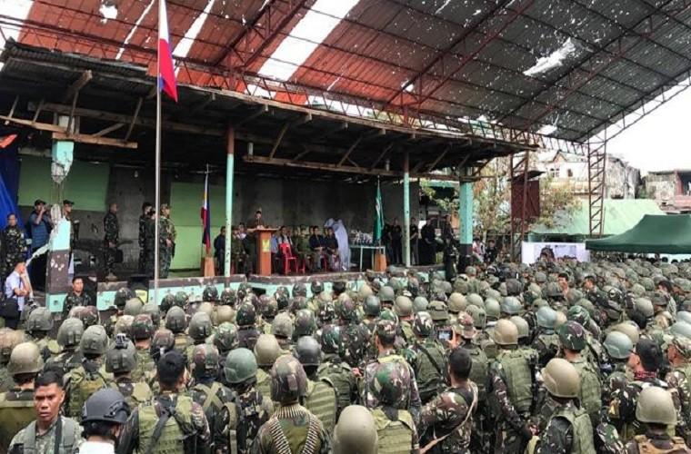 Nhung hinh anh dau tien ben trong Marawi, khi sach bong IS-Hinh-13
