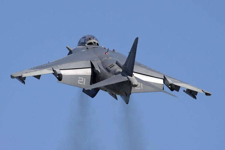 La ky chien dau co AV-8B co the bay nhu truc thang-Hinh-5