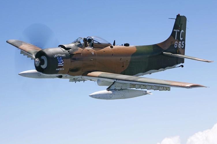 Kham pha cuong kich A-1H Skyraider tung tham chien o Dong Duong-Hinh-5