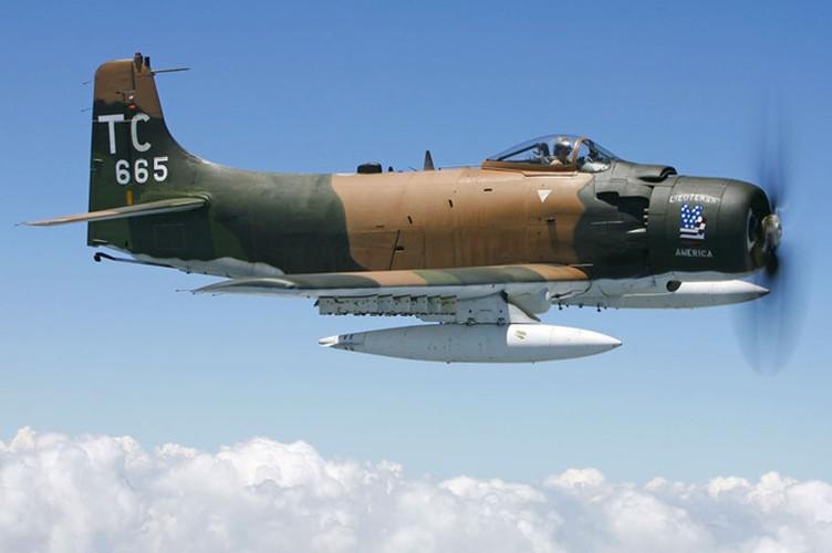 Kham pha cuong kich A-1H Skyraider tung tham chien o Dong Duong-Hinh-8