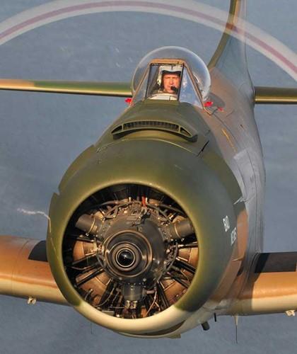 May bay cuong kich AD-1 Skyraider nhin tu nhieu goc do-Hinh-5