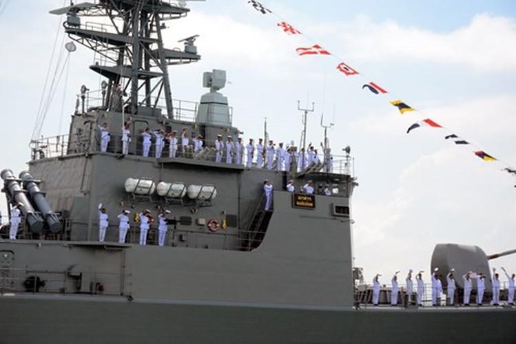 Anh HQND Viet Nam tham gia duyet binh lon o Singapore-Hinh-7