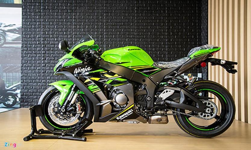 Chi tiet sieu moto Kawasaki ZX-10R gia 549 trieu dong tai VN