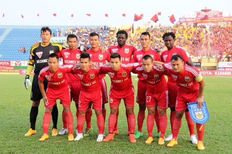 Cong Vinh khong cuu noi Becamex Binh Duong