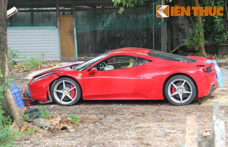 Sieu xe Ferrari 458 ''nat dau'' tai TP HCM cua thieu gia Phan Thanh?-Hinh-2