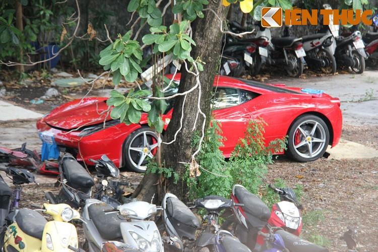 Sieu xe Ferrari 458 ''nat dau'' tai TP HCM cua thieu gia Phan Thanh?-Hinh-3
