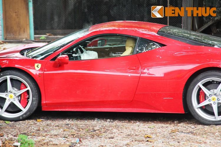 Sieu xe Ferrari 458 ''nat dau'' tai TP HCM cua thieu gia Phan Thanh?-Hinh-5