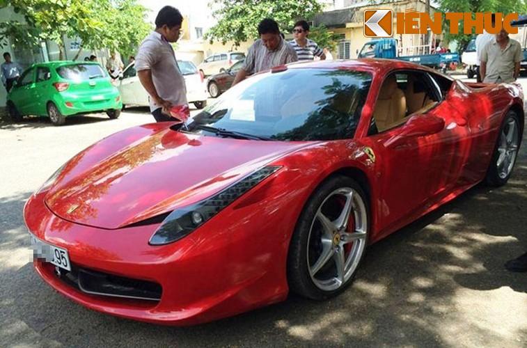 Sieu xe Ferrari 458 ''nat dau'' tai TP HCM cua thieu gia Phan Thanh?-Hinh-7