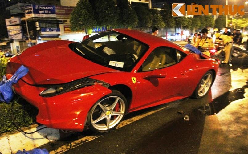 Sieu xe Ferrari 458 ''nat dau'' tai TP HCM cua thieu gia Phan Thanh?-Hinh-8