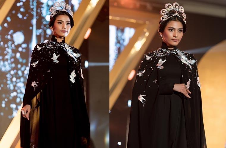 A hau Truong Thi May long lay voi ao dai lam vedette-Hinh-5