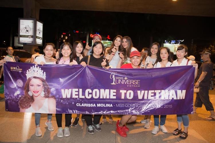 Anh: Nu hoang Sac dep My La Tinh den Viet Nam
