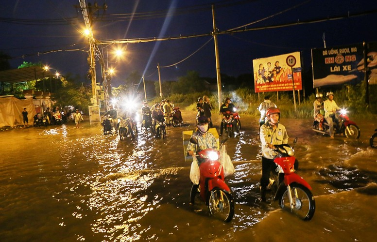 Anh: Nguoi dan TPHCM khon don vi trieu cuong dang cao