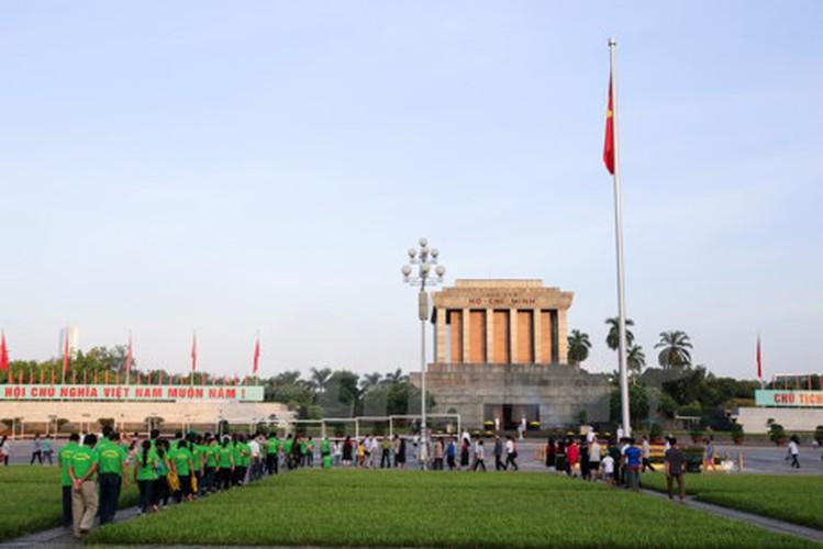 Xuc dong le chao co tai Quang truong Ba Dinh mung ngay 2/9-Hinh-13