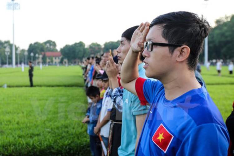 Xuc dong le chao co tai Quang truong Ba Dinh mung ngay 2/9-Hinh-6